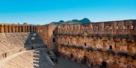 Amfiteatteri, Side, Turkki.