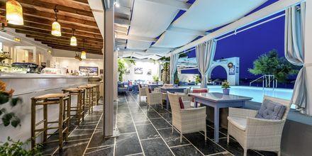 Ravintola. Hotelli Sigalas, Santorini, Kreikka.