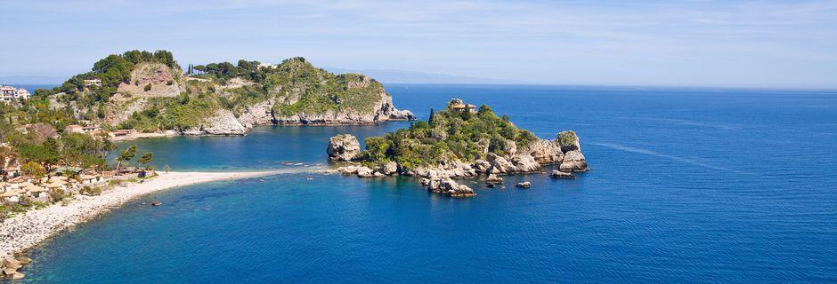 Sisilian rannikkoa.
