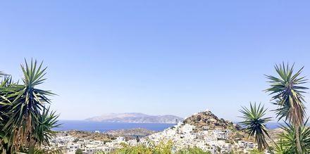 Näkymä. Hotelli Skala, Ios, Kreikka.