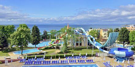 Vesipuisto, Hotelli Sol Nessebar Palace, Nessebar, Bulgaria.