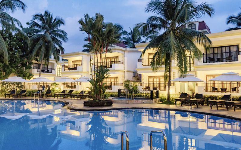 Allasalue, Hotelli Sonesta Inns, Pohjois-Goa, Intia