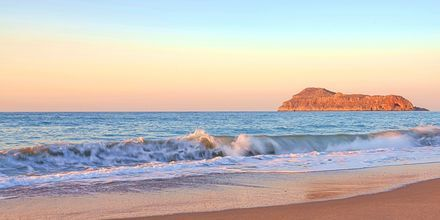 Ranta. Hotelli Sonio Beach, Platanias, Kreeta, Kreikka.