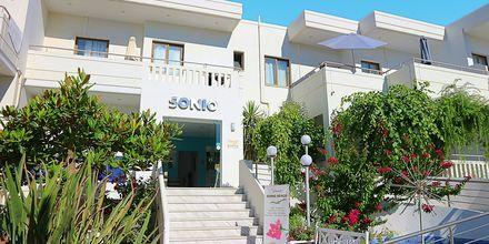 Hotelli Sonio Beach, Platanias, Kreeta, Kreikka.