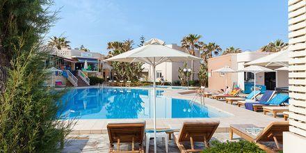 Allasalue. Hotelli Ideal Beach, Kreeta, Kreikka.