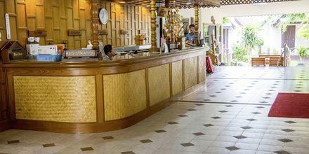 Vastaanotto, hotelli Southern Lanta Resort, Thaimaa.