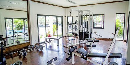 Kuntosali, hotelli Southern Lanta Resort, Thaimaa.