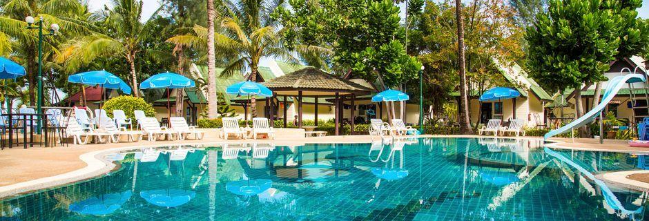 Allasalue, hotelli Southern Lanta Resort, Thaimaa.