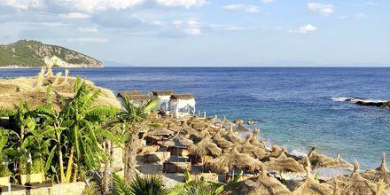 Läheinen ranta. Hotelli Splendor, Dhermi, Albania.