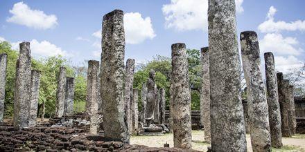 Polonnaruwan rauniot, Sri Lanka.