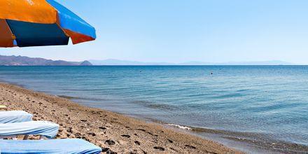 Hotellin läheisin ranta, hotelli St Constantine, Kosin kaupunki.