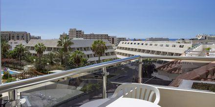 Maisema parvekkeelta, Hotelli Stella Polaris Oro Blanco, Playa de las Americas, Teneriffa.