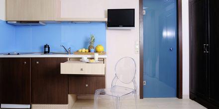 Yksiö. Hotelli Steris, Rethymnonin kaupunki, Kreeta, Kreikka.