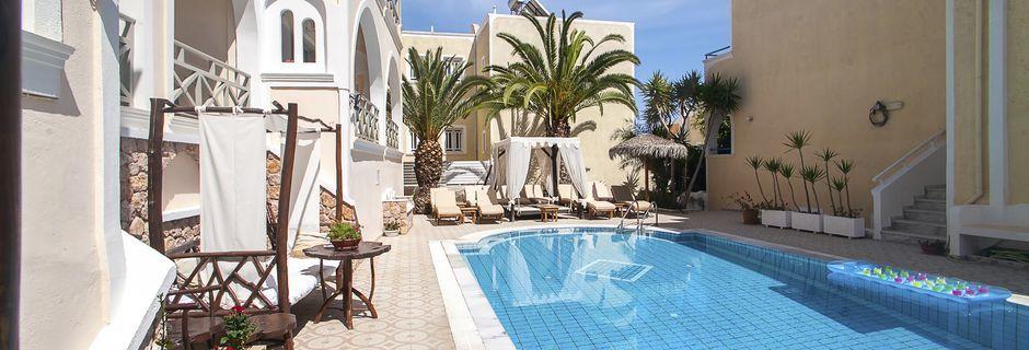 Hotelli Summer Dream. Kamari, Santorini.