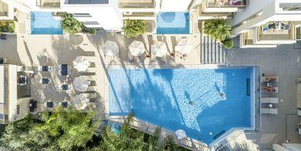 Allasalue. Hotelli Summertime, Platanias, Kreeta, Kreikka.