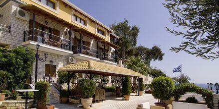 Sisäänkäynti, Hotelli Sunset Parga, Kreikka.