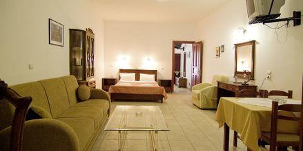 Kaksio, Hotelli Sunset Parga, Kreikka.