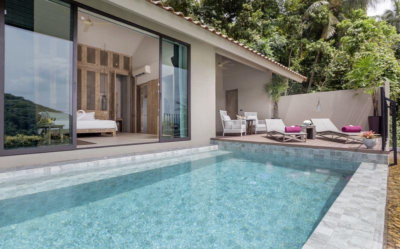 Hotelli Sunsuri Phuket. Nai Harn, Phuket.