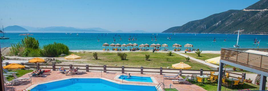 Hotelli Sunwaves, Vassiliki, Lefkas.