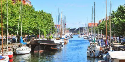 Kanaali Christianshavnissa, Kööpenhaminassa.