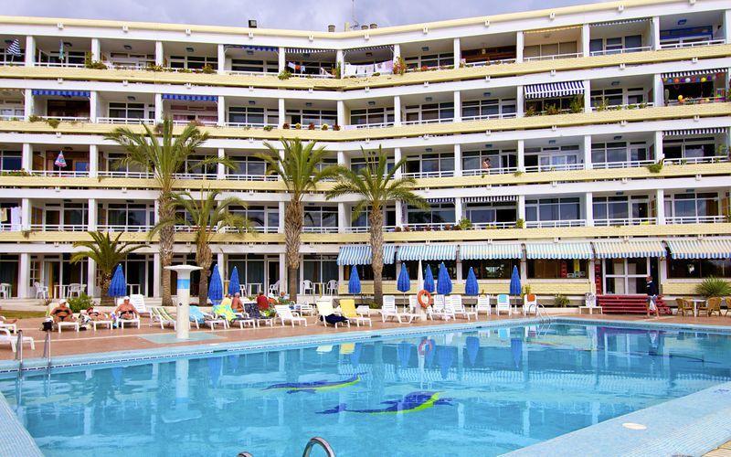 Allas, hotelli Teneguia. Playa del Inglés, Gran Canaria.