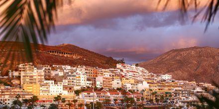 Näkymä vuorille, Los Cristianos, Teneriffa.