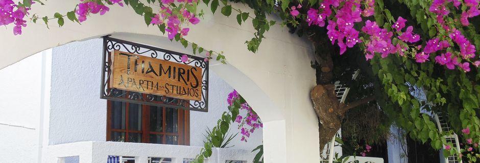 Hotelli Tharmis, Kalives, Kreeta.