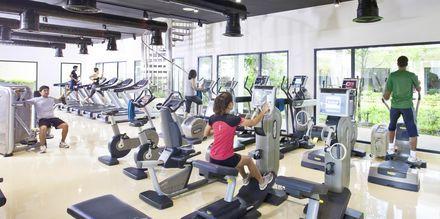 Kuntosali. Thanyapura Sport & Health Resort, Thalang, Thaimaa.