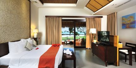 Kahden hengen huone bungalowissa, The Cliff Resort, Phan Thiet, Vietnam.
