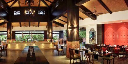 Ravintola, The Hotel O Goa, Pohjois-Goa, Intia.