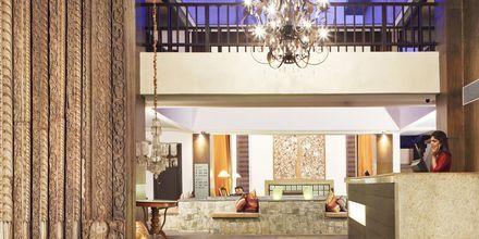 Vastaanotto, The O Hotel Goa, Intia.