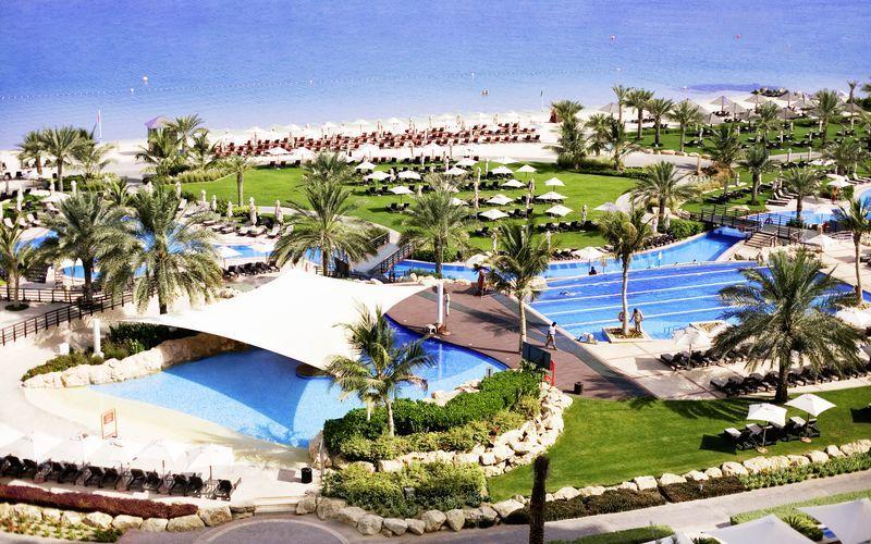 Hotelli The Westom Dubai Mina Seyahi. Dubai, Arabiemiraatit.