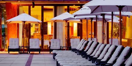 Ravintola Bussola. Hotelli The Westom Dubai Mina Seyahi. Dubai, Arabiemiraatit.