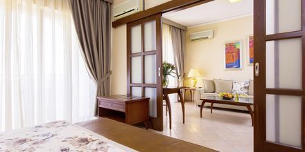 Perhehuone, Hotelli Theartemis Palace, Kreeta, Kreikka.