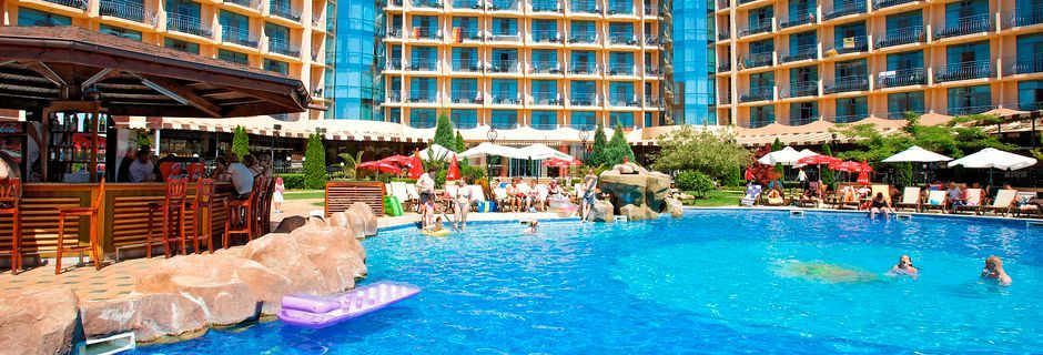 Allasalue, Hotelli Tiara Beach, Sunny Beach, Bulgaria.
