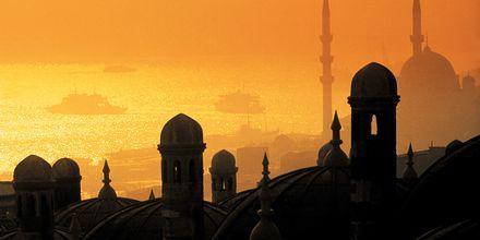 Auringonlasku Turkissa.