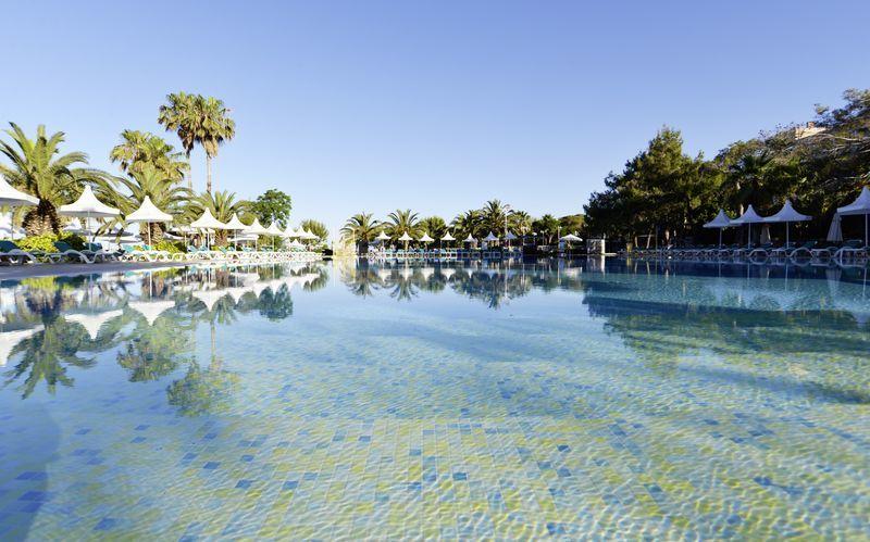 Allasalue, Hotelli Turquoise Resort Hotel & Spa, Side, Turkki.