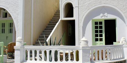 Hotelli Tzortzis, Kamari, Santorini.