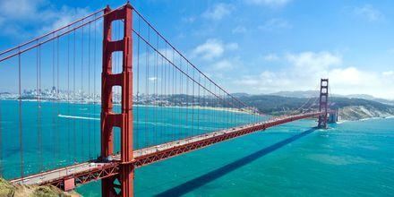 Golden Gate-silta, San Francisco, USA.