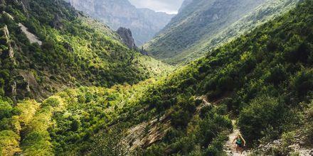 Vaellus Pindus-vuorilla