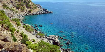 Sougian ja Agia Roumelin välinen rannikko