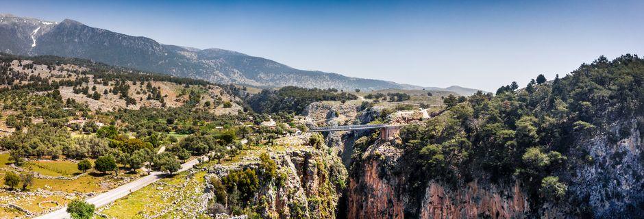 Vaellusmatka Länsi-Kreetalla