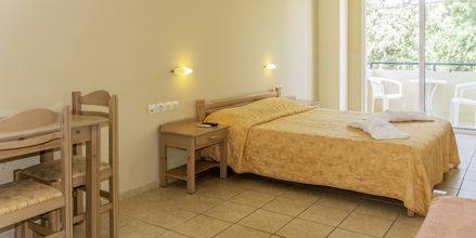 Yksiö. Hotelli Varvara's Diamond, Rethymnon, Kreeta.