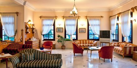 Aula. Hotelli Veggera, Santorini, Kreikka.