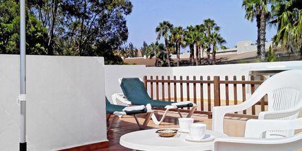 Terassi, Hotelli Venecia, Alcudia, Mallorca.