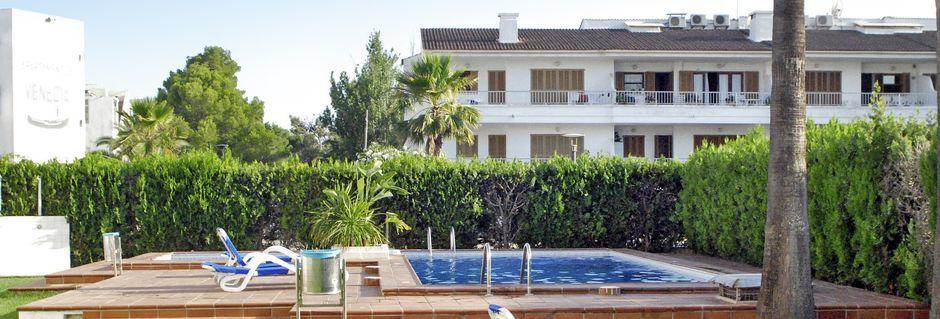 Allas, Hotelli Venecia, Alcudia, Mallorca.