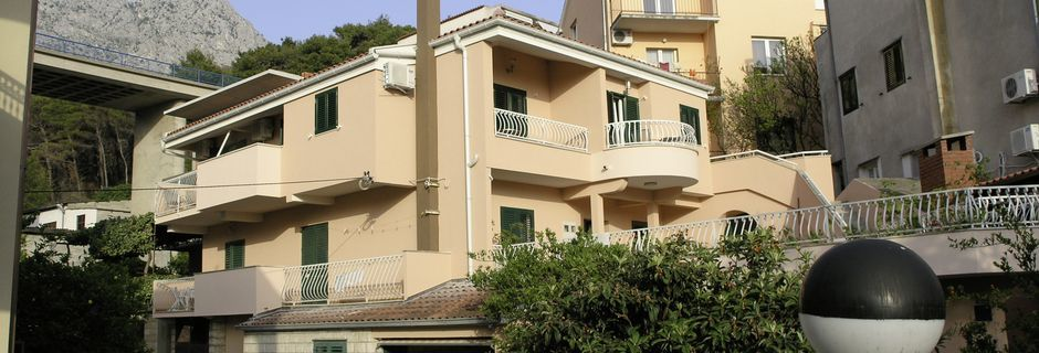 Villa Darko. Podgora, Makarskan Riviera, Kroatia.