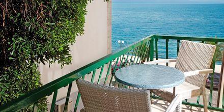 Yksiö. Hotelli Villa David, Podgora, Makarskan Riviera.