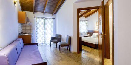 Kaksio, hotelli Villa Vaso. Parga, Kreikka.