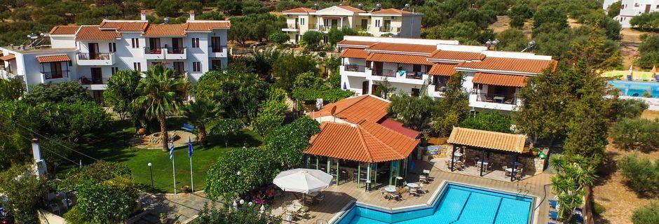 Huoneistohotelli Villa Vicky, Hersonissos, Kreeta.